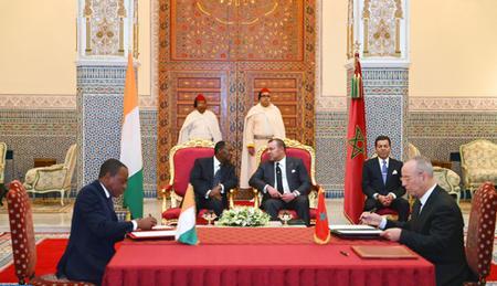 La vocation africaine du Maroc : La Côte d'Ivoire un pays ami