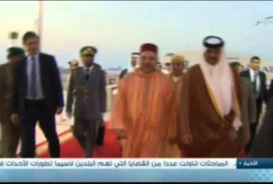 Le roi Mohamed VI au Qatar