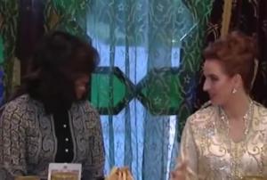 Iftar à Marrakech en l'honneur de Michelle Obama