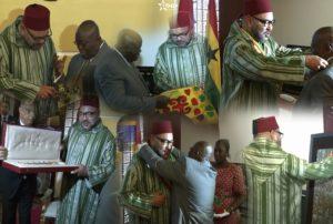 Activités royales au Ghana