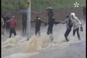 Images des inondations à Rabat et Salé