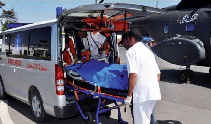 Guelmim: Trois gendarmes trouvent la mort dans un terrible accident de la circulation