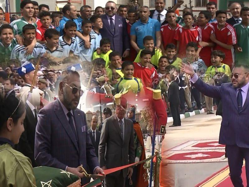 Le Roi lance et inaugure deux nouveaux projets à Casablanca