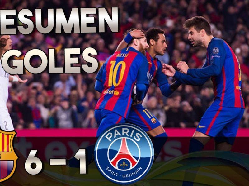 Les buts en vidéo : Fc Barcelona écrase le PSG 6-0