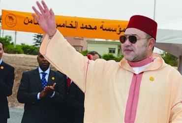 Casablanca: Le roi lance la Campagne nationale de Solidarité 2017