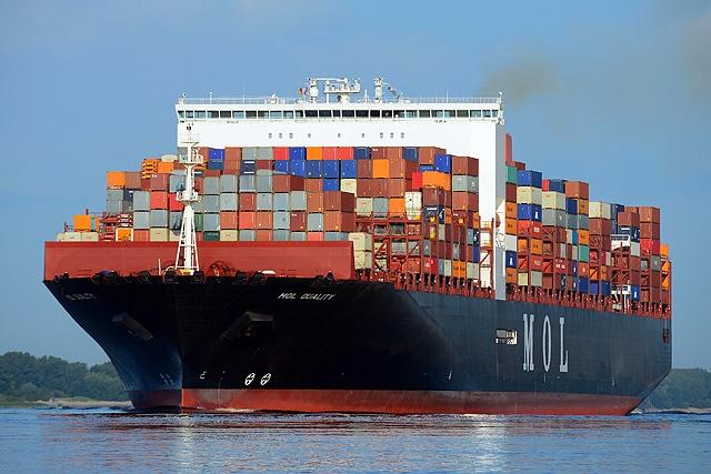 Le plus grand porte conteneurs au monde accoste tanger med - Prenom le plus porte au monde ...