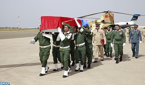 Maroc- ONU: Obsèques des deux soldats tués en Centrafrique
