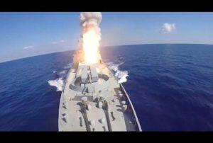 Tirs de missiles russes sur des cibles de l'EI