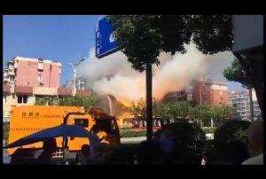 Deux morts dans une explosion au gaz en Chine