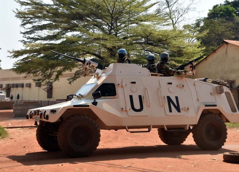 RCA: L'ONU condamne l'attaque ayant coûté la vie à un Casque bleu Marocain