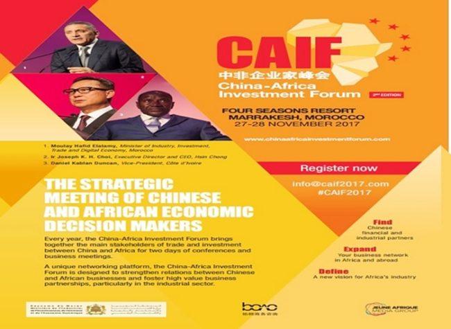 Marrakech accueillera la 2è édition du China-Africa Investment Forum