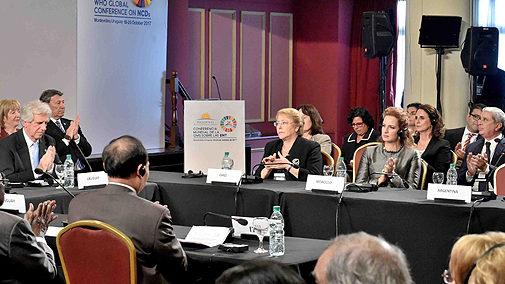 Uruguay: La Princesse Lalla Salma à la conférence mondiale de l'OMS
