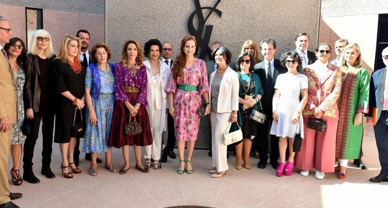 Lalla Salma préside l'inauguration du musée «Yves Saint Laurent Marrakech»