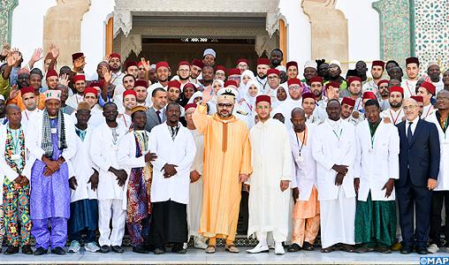 Le Roi inaugure l'extension de l'Institut Mohammed VI pour la formation des Imams