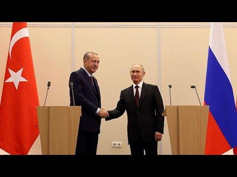 Poutine et Erdogan d'accord sur le dossier syrien