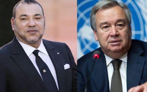 Al Qods- ONU: Message du roi Mohammed VI à Antonio Guterres
