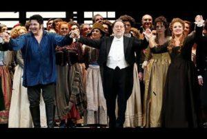 «Andrea Chénier» ovationné à l'ouverture de La Scala de Milan