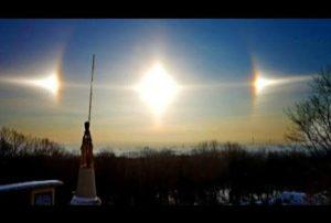 Insolite : les trois soleils de Harbin