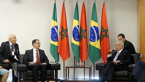 Brésil: Le chef du gouvernement reçu par le Président Michel Temer