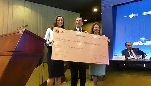 Forum mondial de l'Eau: Le Grand Prix Mondial Hassan II pour l'Eau remis à l'OCDE