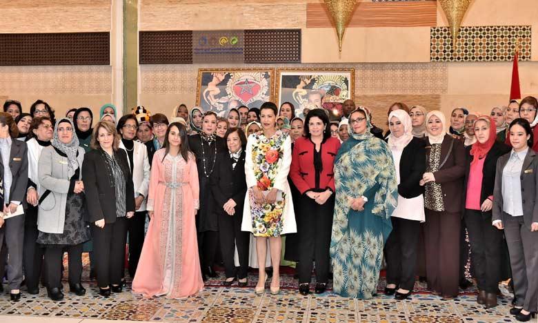 Marrakech: La Princesse Lalla Meryem préside la cérémonie de célébration de la Journée Internationale de la Femme
