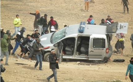 Jerada- manifestation: Des dizaines de blessés y compris parmi les forces de l'ordre et 9 arrestations