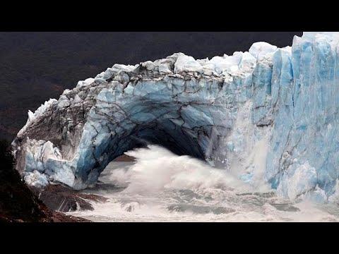 L'arche du glacier Perito Moreno s'est rompue