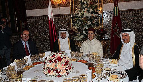 Conclusion de 11 accords de coopération — Maroc-Qatar