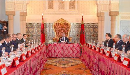 Le Roi Mohammed VI préside un conseil des ministres: Agriculture, lois, conventions et nominations à l'ordre du jour