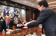 Sahara: Bourita remet un message du Roi Mohammed VI au SG de l'ONU