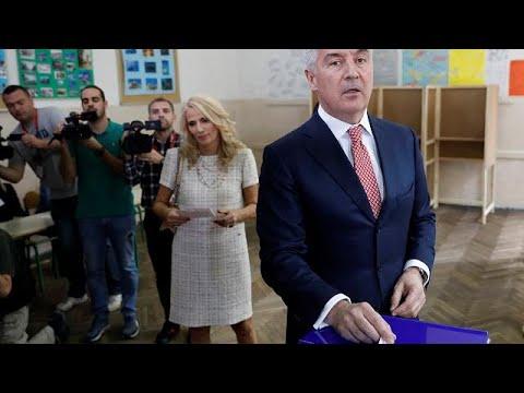 Présidentielle au Monténégro : Djukanovic grand favori