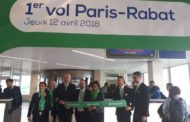 Transavia: vol inaugural Paris- Rabat-Salé