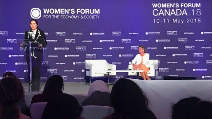 """""""Women's Forum Canada 2018""""- Princesse Lalla Hasnaa: le potentiel transformateur du leadership féminin un atout majeur pour le Climat"""