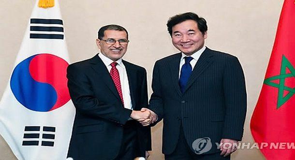 El Othmani et l'exemple sud-coréen