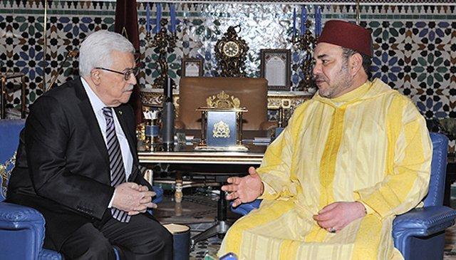 Al-Qods: Message du Roi Mohammed VI au président Mahmoud Abbas