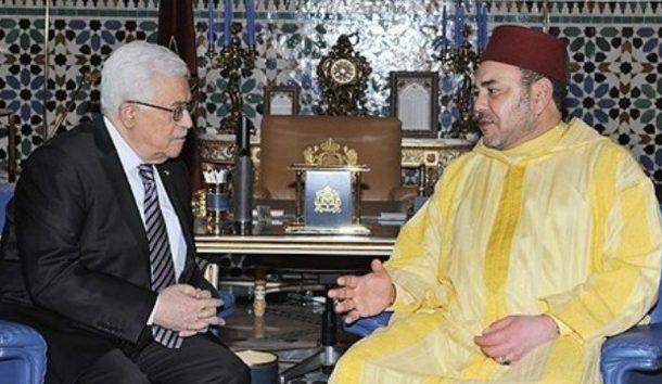 Entretien téléphonique entre le Roi Mohammed VI et le président palestinien