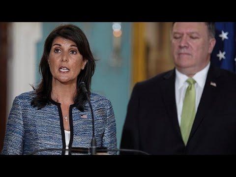 Washington quitte le Conseil des droits de l'homme de l'ONU