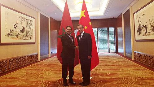 Chine: Les ministres des AE arabes et chinois saluent les efforts du Roi pour la défense d'Al Qods