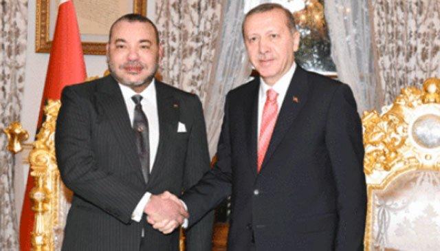 Le président Erdogan fier des relations entre le Maroc et la Turquie