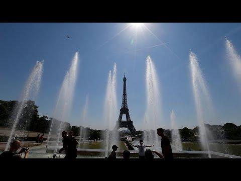 Les sans-abris de Paris et la canicule