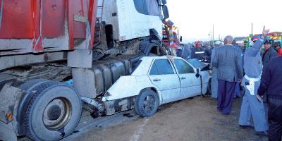 Accidents: 27 morts sur les routes en une semaine