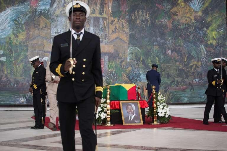 Le Prince Moulay Rachid représente le Roi Mohammed VI aux funérailles de Kofi Annan