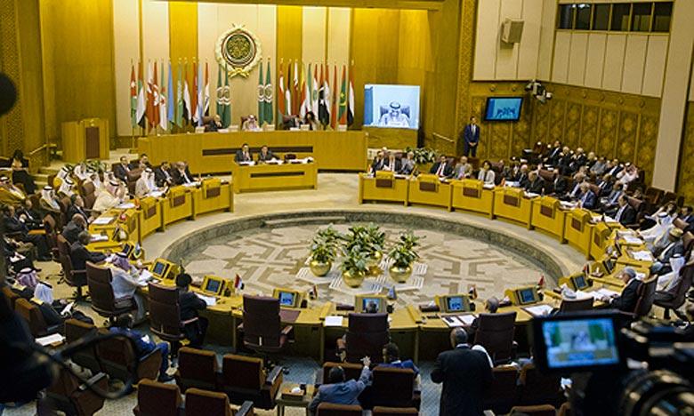 Al Qods: Les ministres arabes des AE saluent les efforts du Roi Mohammed VI