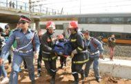 Accident de train: Le bilan provisoire est de 7 morts et 87 blessés