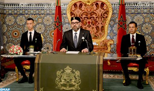 Le Roi Mohammed VI affirme la disposition du Maroc au « dialogue direct et franc avec l'Algérie »