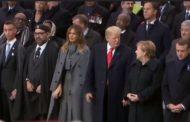 Centenaire de l'armistice : Le Roi Mohammed VI accueilli à l'Élysée par le Président Macron