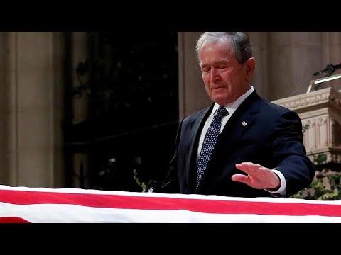 L'adieu des Etats-Unis à George Bush père