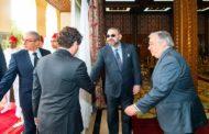 Le Secrétaire Général des Nations Unies reçu par Le Roi Mohammed VI