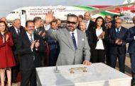 Le Roi Mohammed VI lance les travaux d'un nouveau terminal à l'aéroport de Rabat-Salé