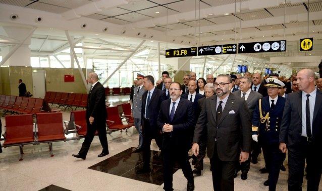 Inauguration d'un nouveau terminal à l'aéroport de Casablanca
